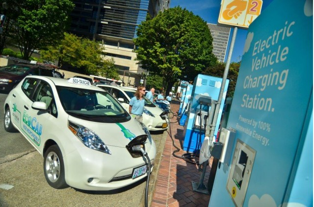 Oregon Debates Ev Charging Stations Cost Or Benefit For Utility Customers