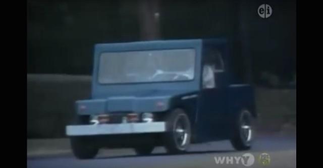 Electric car on 'Mister Rogers' Neighborhood'