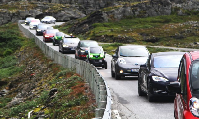 Half Of All New Cars Sold In Norway Last Year Are Electric Or Hybrid As Sel Ebbs Fast
