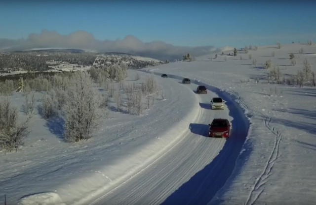 Electric Car Testing In Norway