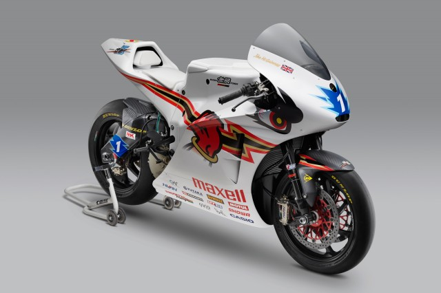 Electric motorcycle at 2016 Isle of Man TT Race: Shinden Go