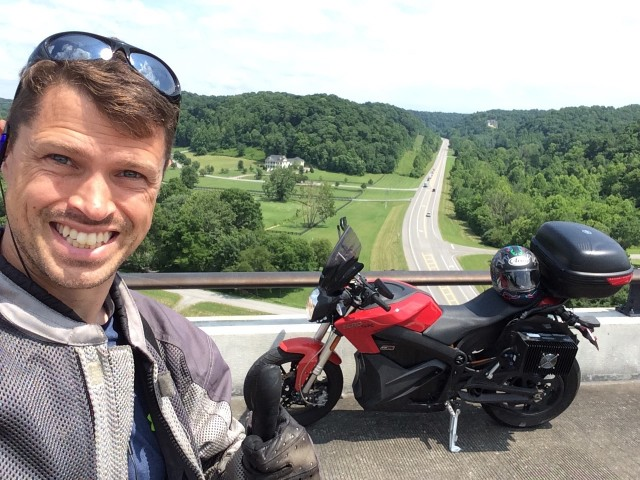 Electric Motorcycle Ride From Mexico To Canada: scenese from the road  [photo: Ben Rich]