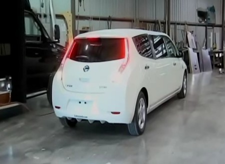 Electric Nissan Leaf Limo