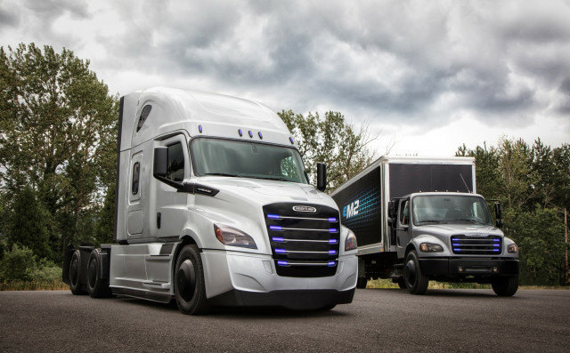 Electric trucks from Daimler's Freightliner brand