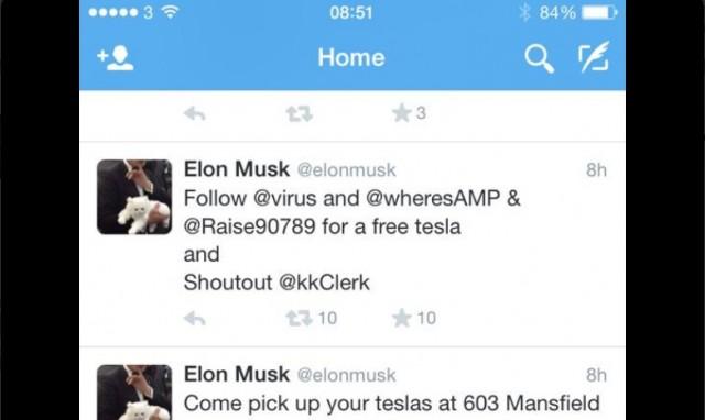 Latest Tesla Software Update >> Tesla Website, Twitter Account, Musk Twitter Briefly Hacked