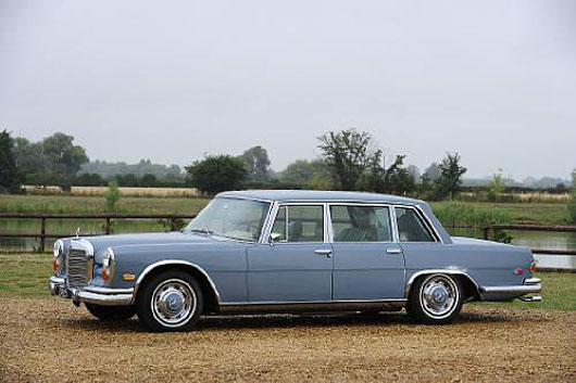 Elvis Presley's 1970 Mercedes-Benz 600 Sells For $187,390