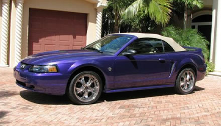 Ebay Own Rap Star Eminems 1999 Purple Mustang
