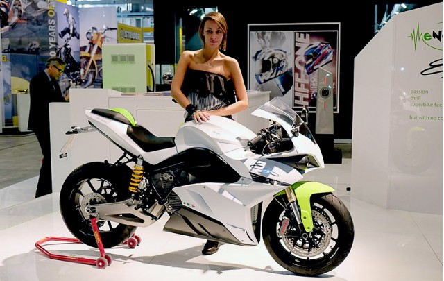 Energica Ego Epic electric motorcycle
