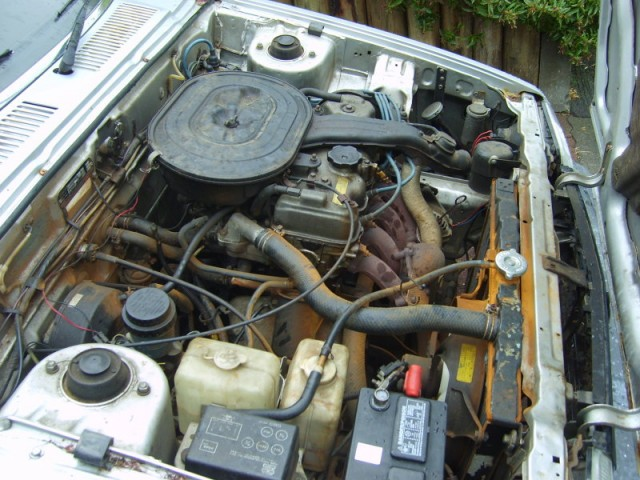 Engine Compartment Before Conversion To Electric Vehicle From Gavin Shoebridge