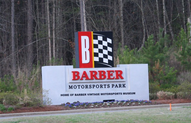 Entry to Barber Motorsports Park - INDYCAR Photo