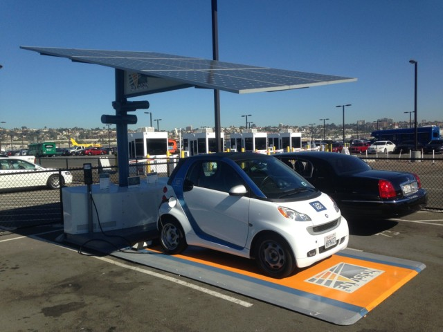 Electric Car Charging Locations California