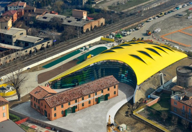 enzo ferrari museum in modena, italy is now open