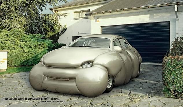 Erwin Wurm's Fat Car