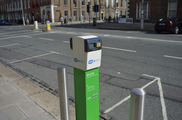 ESB ecars electric-car charging point in Ireland