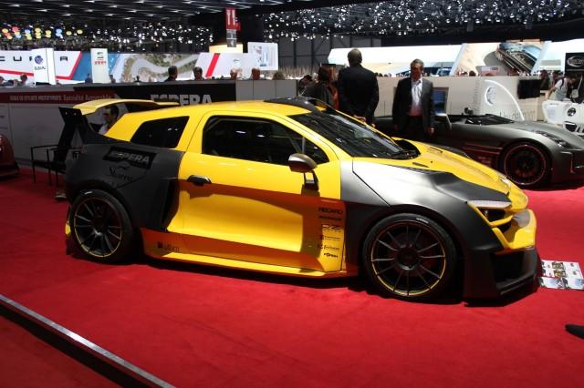 Espera Sbarro Sparta Concept  -  2014 Geneva Auto Show live photos