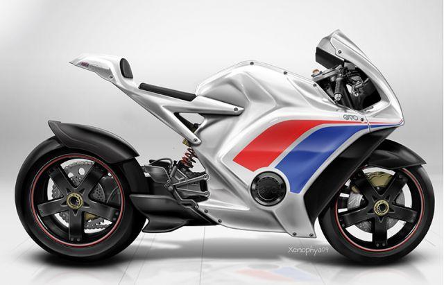 EV-o RR electric motorcycle by Evo Designs