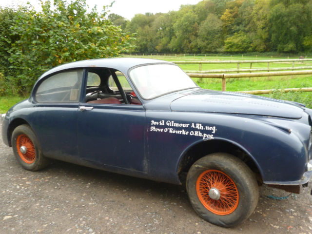 Ex-Pink Floyd Jaguar Mk 2 prepped for La Carrera Panamericana on eBay UK