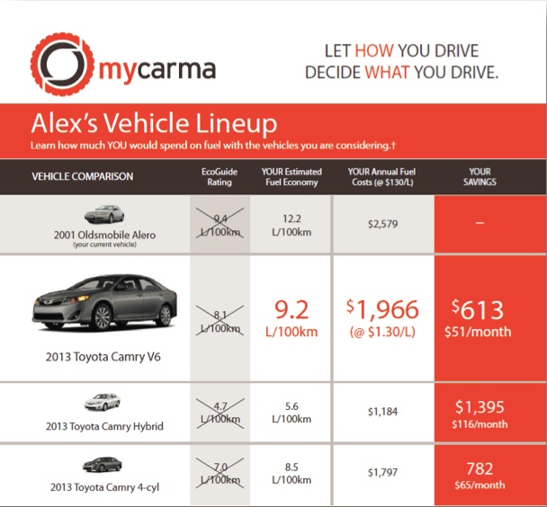 Excerpt of MyCarma Label report, by CrossChasm Technologies