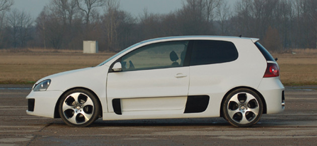 Turn Your Mark V Golf Into The Extreme Gti W12 650 Concept