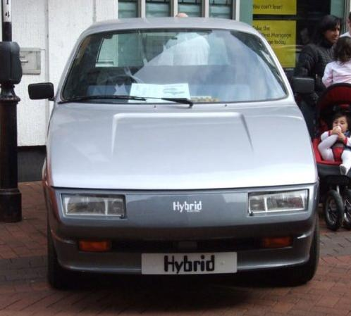 Experimental Lucas Hybrid Electric Car Developed In The 1980s