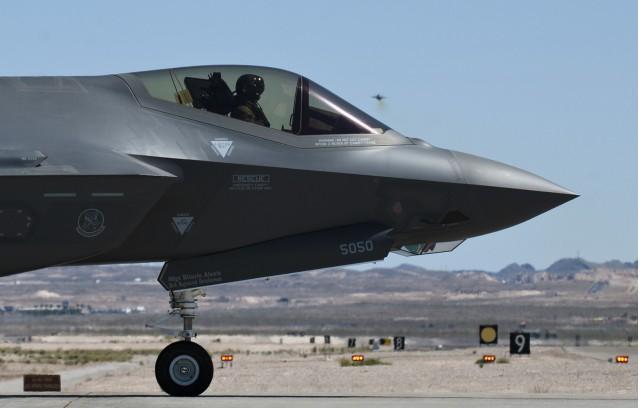 F-35 Lightning II [Image: U.S. Air Force via Flickr]
