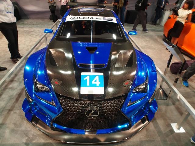 F Performance Racing 2016 Lexus RC F GT3 race car, 2015 SEMA show