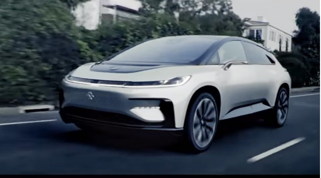 Faraday Future FF 91 video