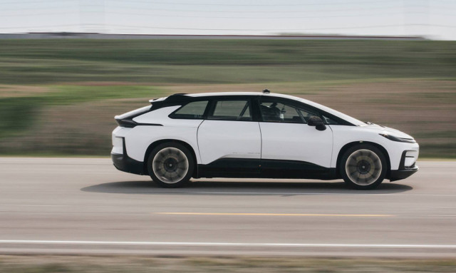 Faraday Future FF91 prototype