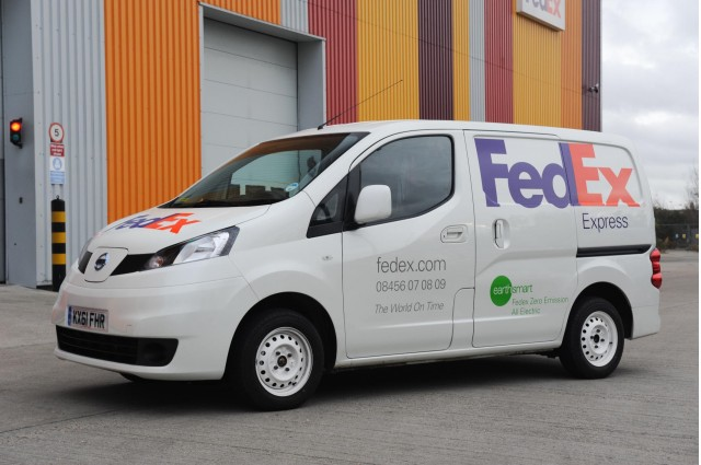 045cf68bb6 FedEx to use Nissan NV200 electric van in London