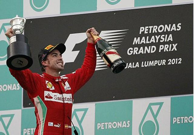 Fernando Alonso Takes Top Podium Spot