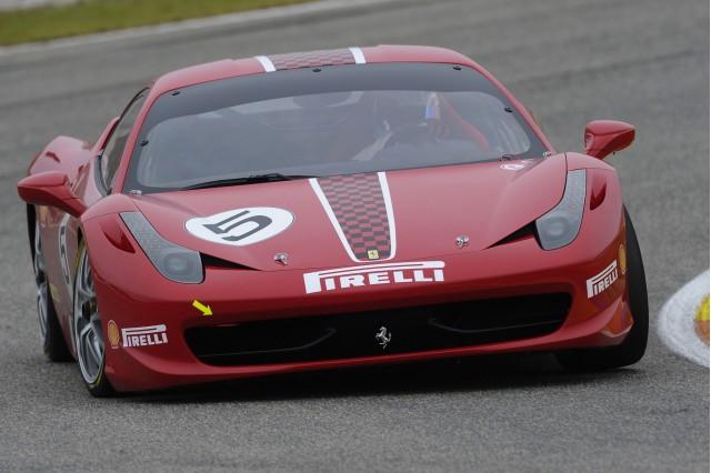 Ferrari 458 Challenge race car