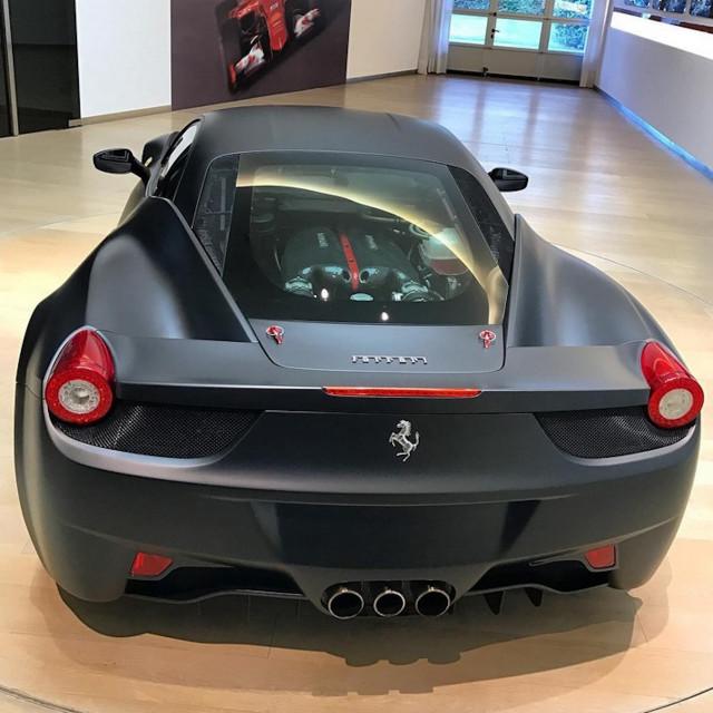 Ferrari 458 powered by LaFerrari V-12 engine
