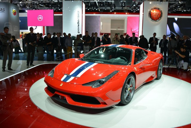 Replacement To Be Ferraris Next Turbocharged Car - Ferrari car show