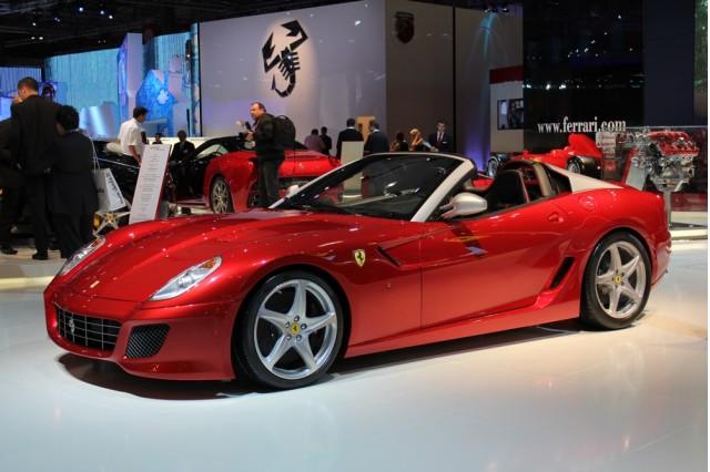 2010 Ferrari 599 SA Aperta