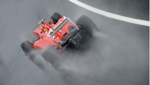 Ferrari at the 2012 Formula 1 British Grand Prix