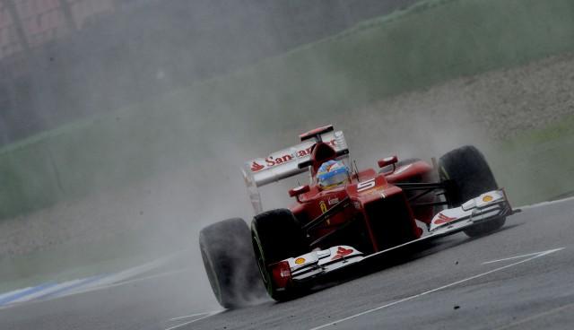 Ferrari at the 2012 Formula 1 German Grand Prix