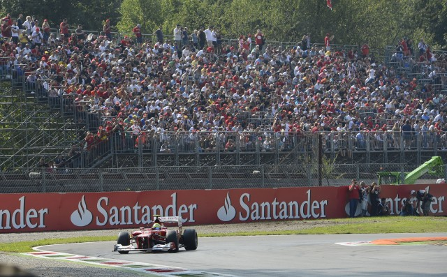 Ferrari at the 2012 Formula 1 Italian Grand Prix