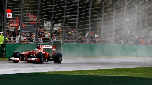 Ferrari at the 2013 Formula 1 Australian Grand Prix
