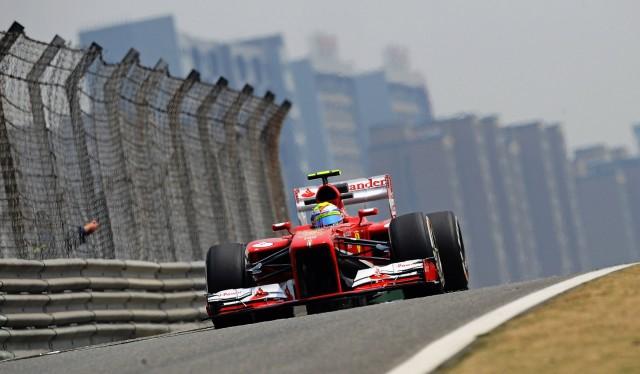 Ferrari at the 2013 Formula 1 Chinese Grand Prix