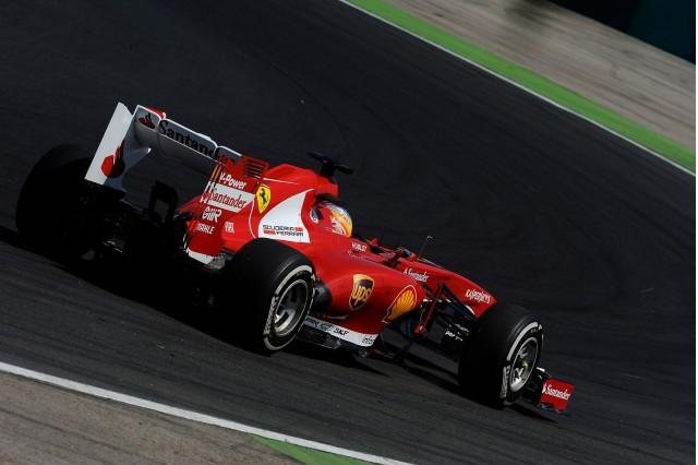 Ferrari at the 2013 Formula One Hungarian Grand Prix