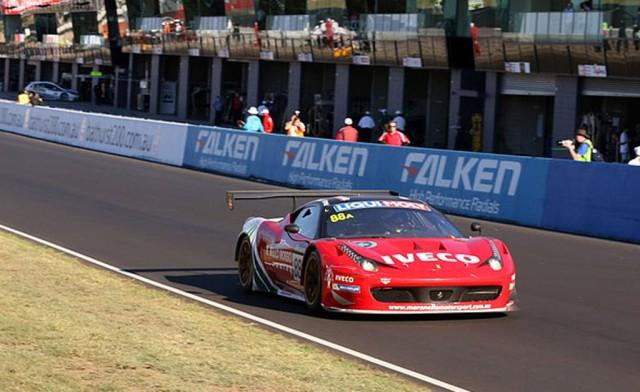 Ferrari at the 2014 Bathurst 12 Hour endurance race