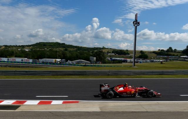 Ferrari at the 2014 Formula One Hungarian Grand Prix