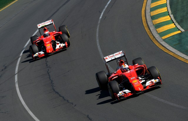 Ferrari at the 2015 Formula One Australian Grand Prix