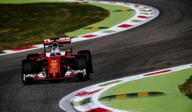 Ferrari at the 2016 Formula One Italian Grand Prix