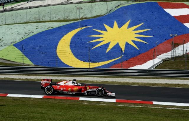 Ferrari at the 2016 Formula One Malaysian Grand Prix