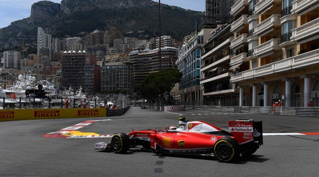 Ferrari at the 2016 Formula One Monaco Grand Prix