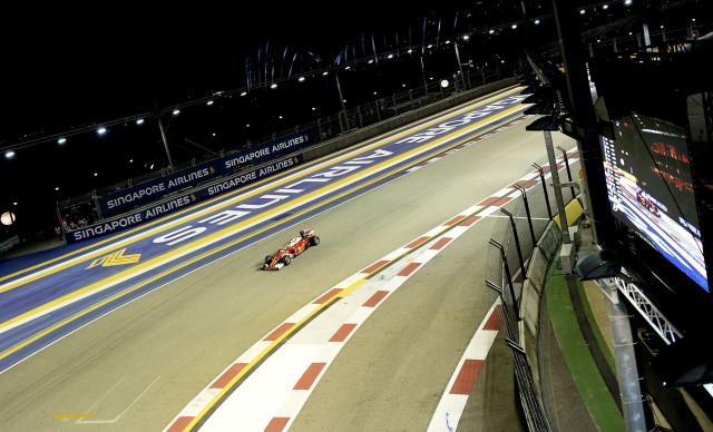 Ferrari at the 2016 Formula One Singapore Grand Prix