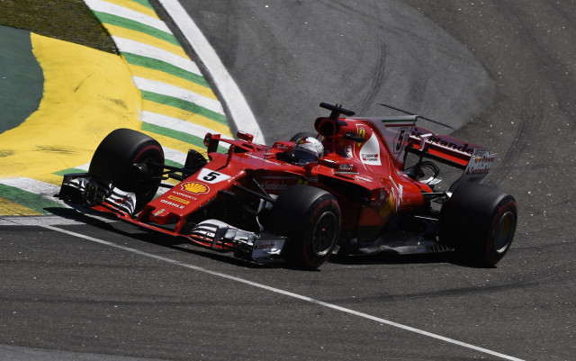 Ferrari at the 2017 Formula 1 Brazilian Grand Prix