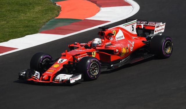 Ferrari at the 2017 Formula 1 Mexican Grand Prix
