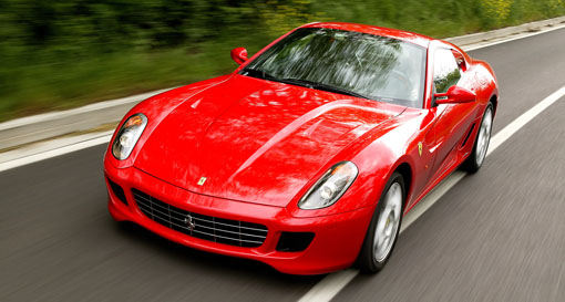 Ferrari Develops 4wd System
